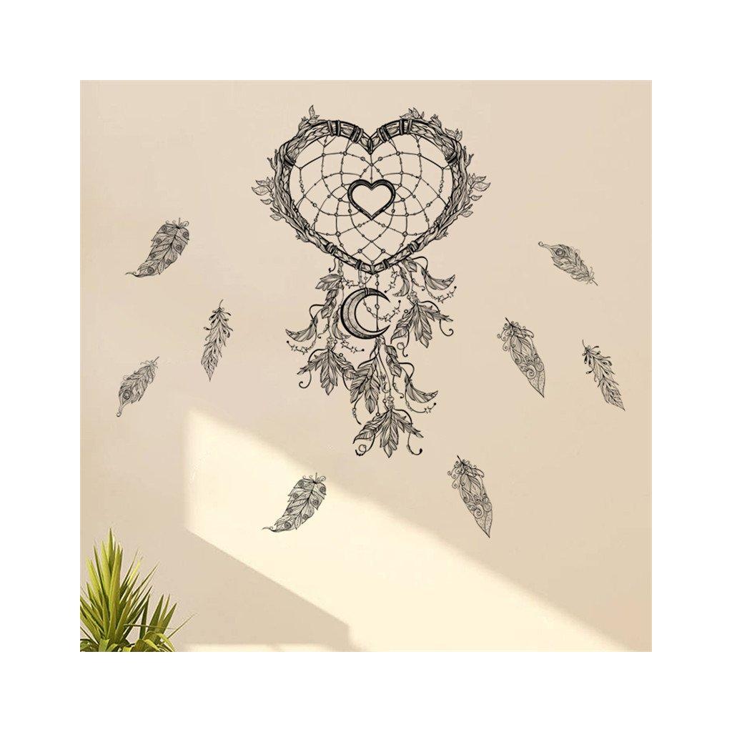 samolepiaca tapeta dekoracna samolepka na stenu nalepka lapac snov styl interierovy dizajn dekoracia vizualizacia stylovydomov