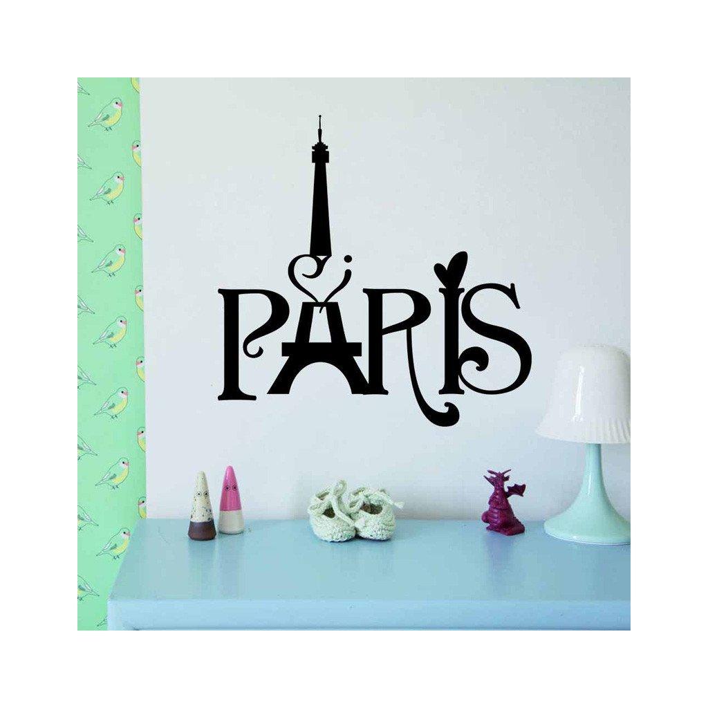 samolepiaca tapeta dekoracna samolepka na stenu nalepka pariz 2 styl interierovy dekoracia nahlad stylovydomov