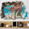 detska samolepka na stenu samolepiaca tapeta dekoracna nalepka pre deti moana odvzna vaiana nahlad stylovydomov