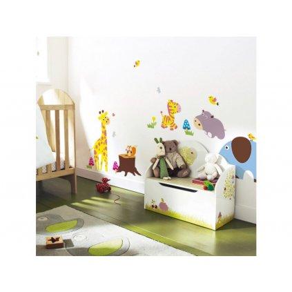 """Samolepka na zeď """"Zvířátka XXL"""" 58x235 cm"""