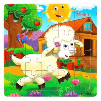 puzzle Ovečka