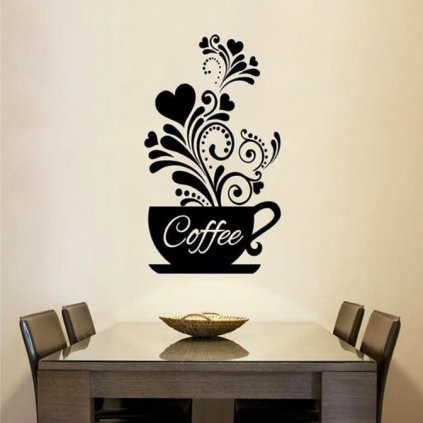 Káva s ornamentom úvod