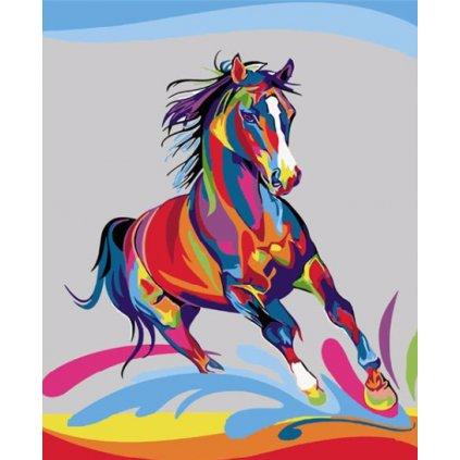 Farebný kôň