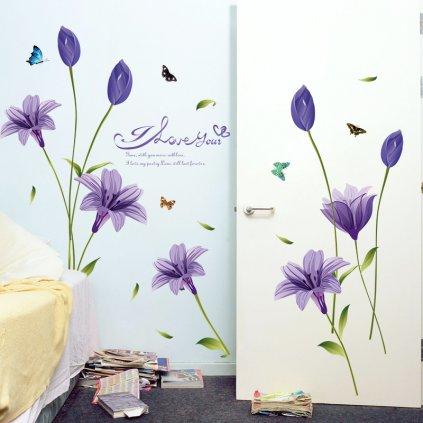 Fialové kvety úvod