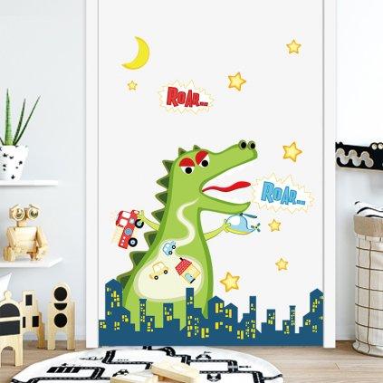 "Samolepka na zeď ""Godzilla"" 73x80cm"