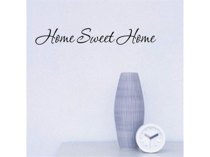 samolepiaca tapeta dekoracna samolepka na stenu nalepka home sweet home interierovy dizajn dekoracia nahlad stylovydomov