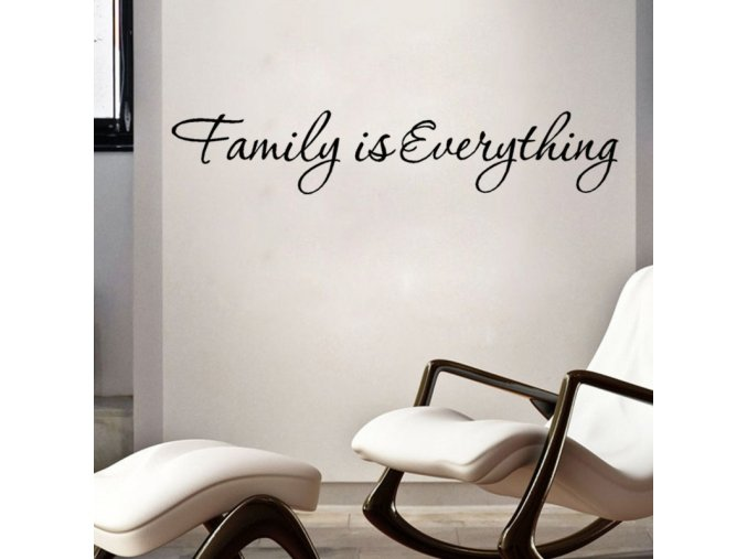samolepiaca tapeta dekoracna samolepka na stenu vinylova nalepka rodina je vsetko dizajn dekoracia nahlad stylovydomov