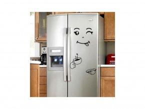 """Samolepka na ledničku """"Štístko 4"""" 80x60cm"""