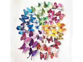 samolepiaca tapeta dekoracna samolepka na stenu nalepka plastove motyle interierovy dizajn dekoracia nahlad stylovydomov