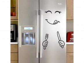 """Samolepka na ledničku """"Štístko 2"""" 80x60cm"""