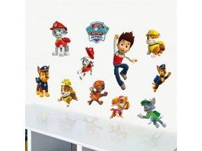 detska samolepka na stenu samolepiaca tapeta dekoracna nalepka pre deti paw patrol nahlad stylovydomov