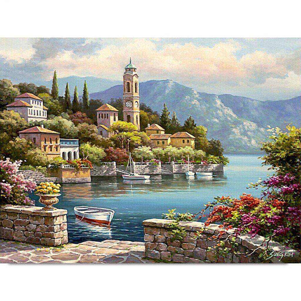 namaluj si obraz domy pri jazere 2 nahlad stylovydomov