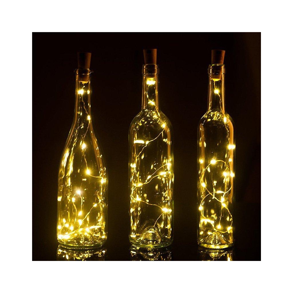 Dekoratív LED-es üveglámpák