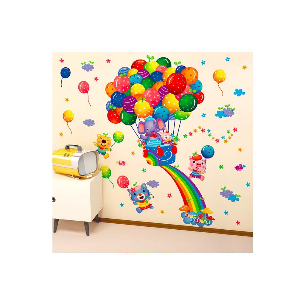 Zvieratká s balónmi úvod