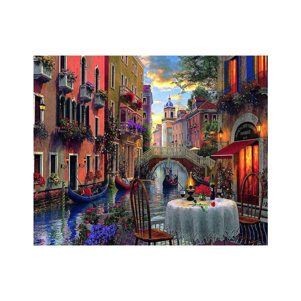 Večera v Benátkach