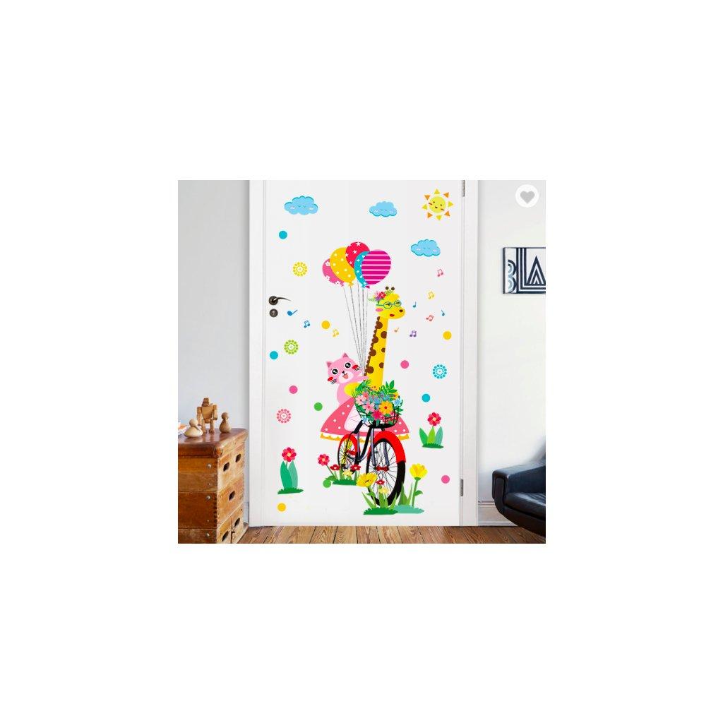 Žirafa na bicykli úvod