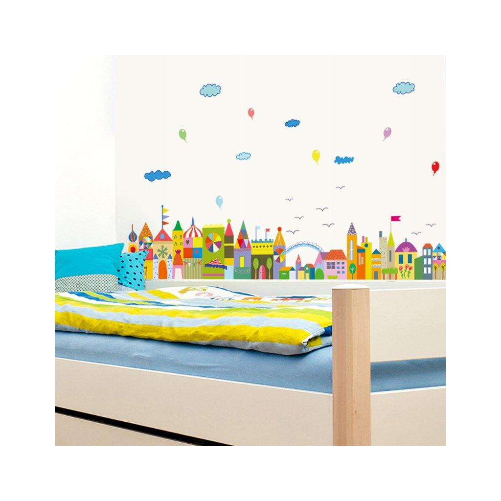 """Falmatrica """"Színes királyság"""" 42x140cm"""