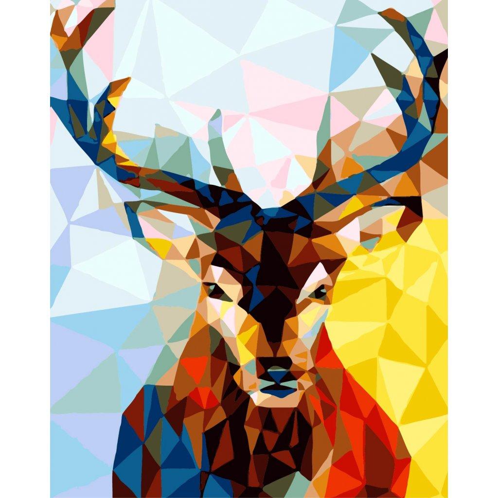 WM 008 彩色麋鹿