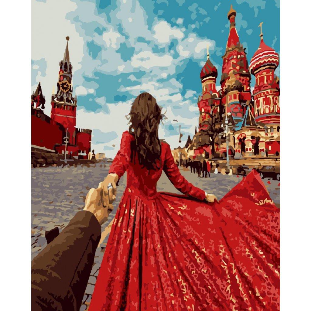 WM 1065 牵手红裙
