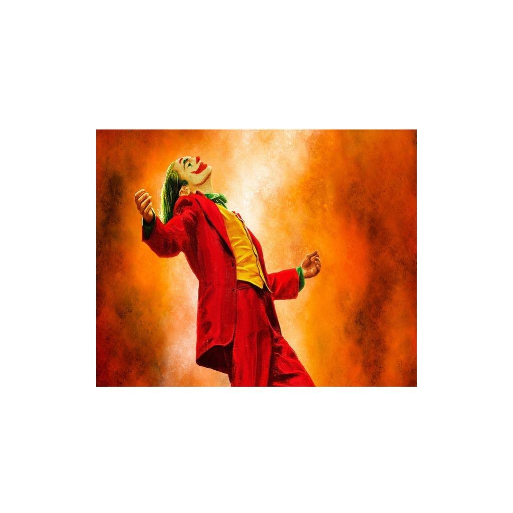 """Festés számok szerint kép kerettel """"Joker 4"""" 40x50 cm"""