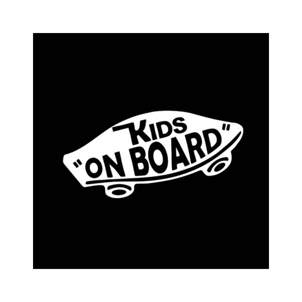 samolepka na auto vans kids on board dieta na palube dekoracna nalepka strieborna stylovydomov