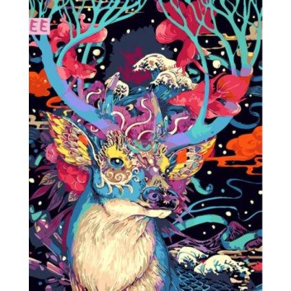 Farebný jeleň 2