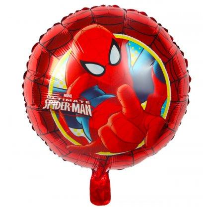 """Kerek léggömb """"Spider-man"""" 44cm"""