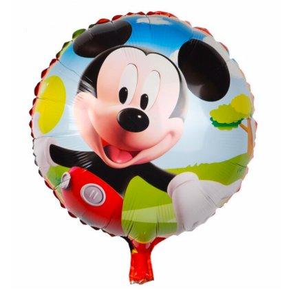 """Kerek léggömb """"Mickey Mouse"""" 44cm"""