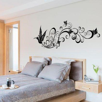 Kolibrík s ornamentom