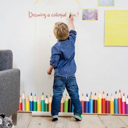 detska samolepka na stenu samolepiaca tapeta dekoracna nalepka pre deti farbicky stylovydomov