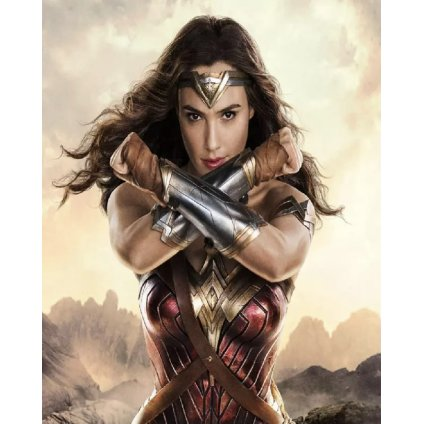 """Festés számok szerint """"Wonder woman"""" 40x50 cm"""