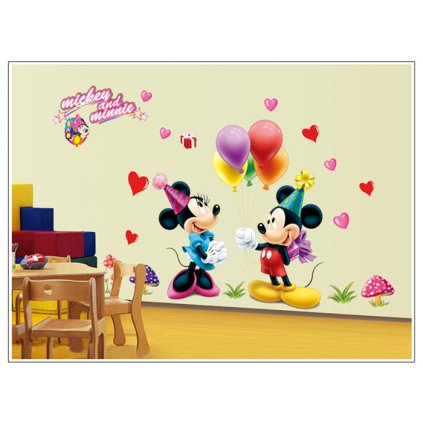 "Falmatrica ""Mickey & Minnie"" 75x50 cm"