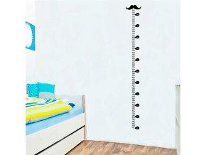 detska samolepka na stenu samolepiaca tapeta dekoracna nalepka pre deti detsky meter fuzy nahlad stylovydomov