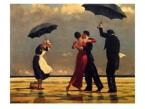 namaluj si obraz malovanie podla cisiel art painting tanec v dazdi stylovydomov