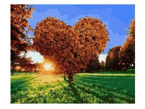 namaluj si obraz malovanie podla cisiel art painting strom lasky stylovydomov