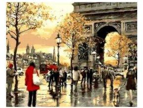 malovanie podla cisiel namaluj si obraz bicykle pariz 3