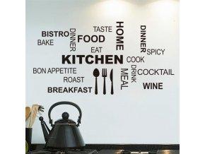 samolepka na stenu kuchyna nalepka dekoracna stylovydomov interier