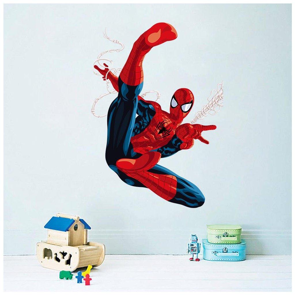 detska nalepka samolepka pre deti spiderman 5 nahlad stylovydomov