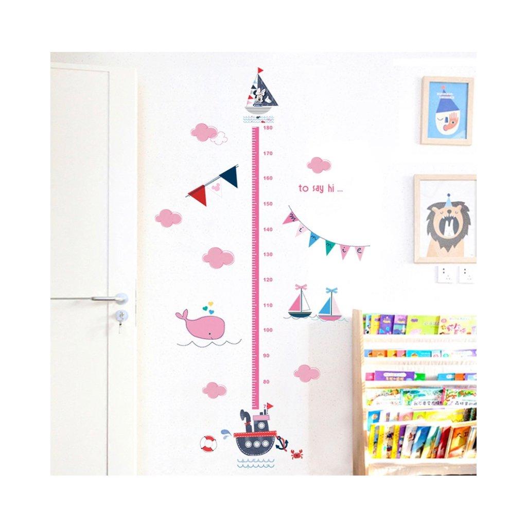 samolepka na stenu pre deti detska nalepka dekoracia detsky meter minnie stylovydomov