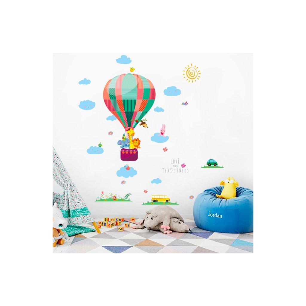 Teplovzdušný balón úvod