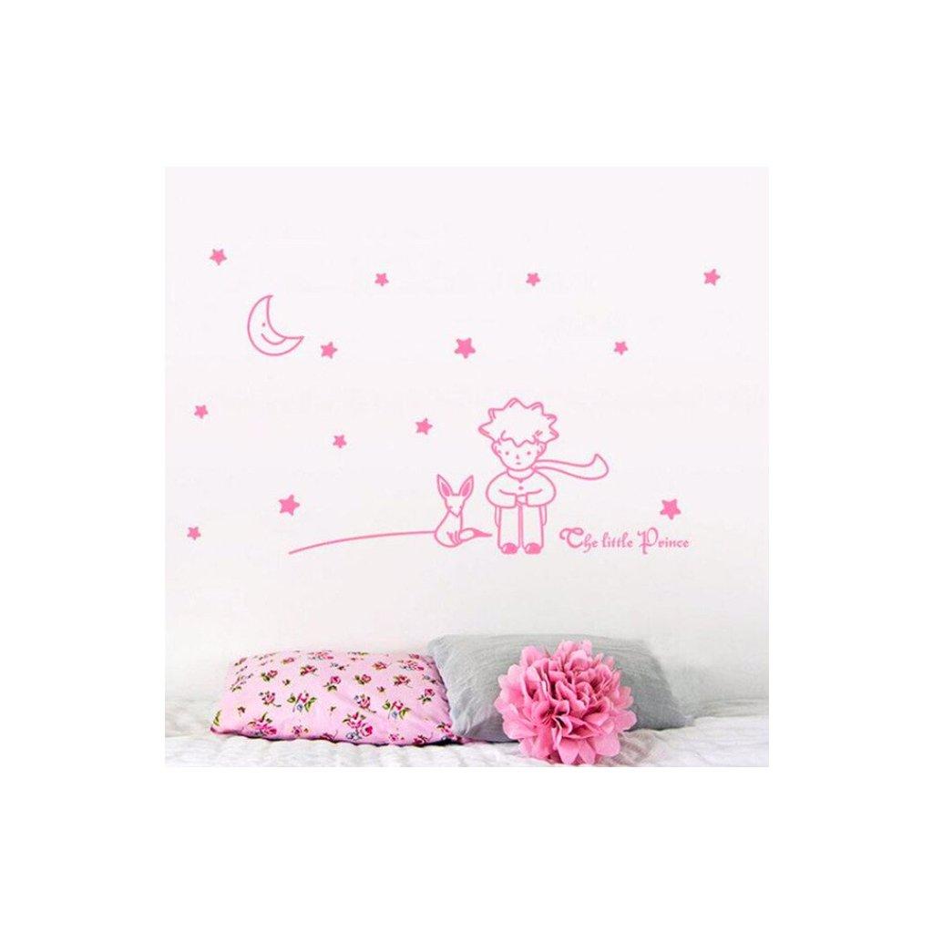 Malý princ ružová