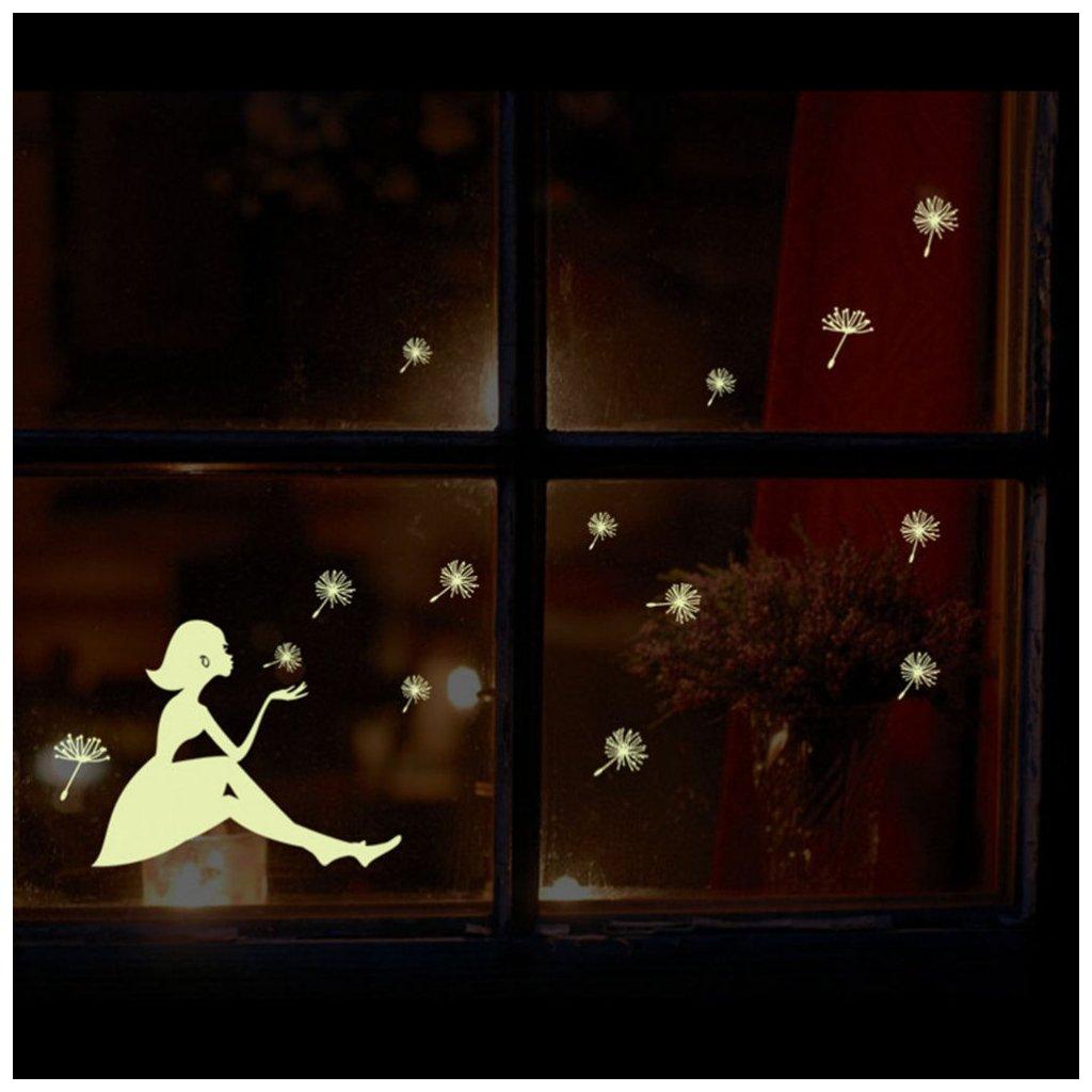 samolepka na stenu dievča pupavy pre deti detska tapeta nalepka dekoracia izbicka stylovydomov