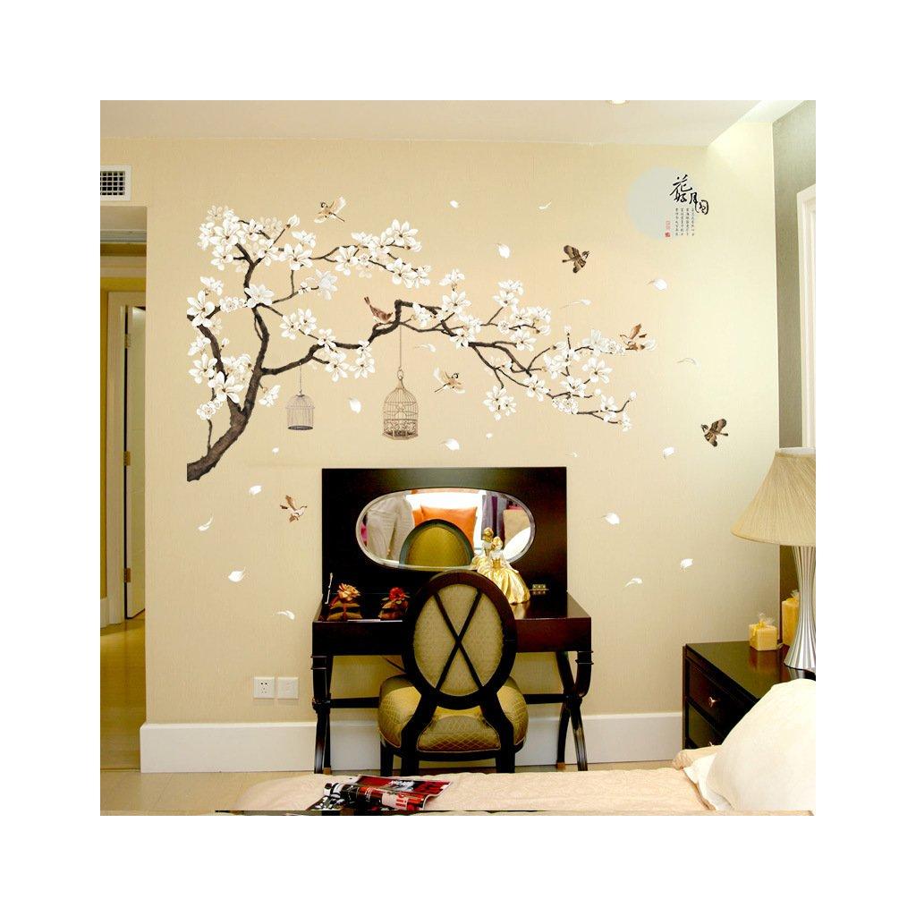 """Autocolant de perete """"Cireș japonez"""" 187x128cm"""