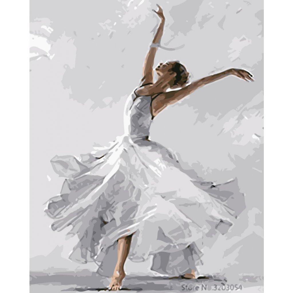 WM 3370 舞动白裙