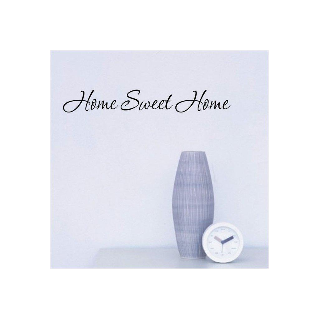 samolepka na stenu home sweet home dekoracna tapeta nalepka stylovydomov