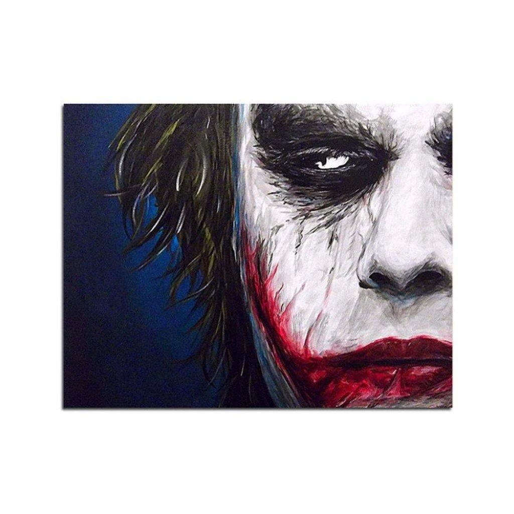 """Pictura pe numere cu un cadru """"Joker 3"""" 50x40 cm"""