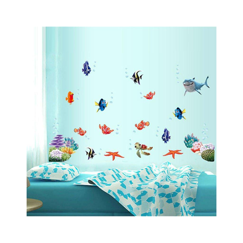 """Autocolant de perete """"În căutarea lui Nemo"""" 60x45 cm"""