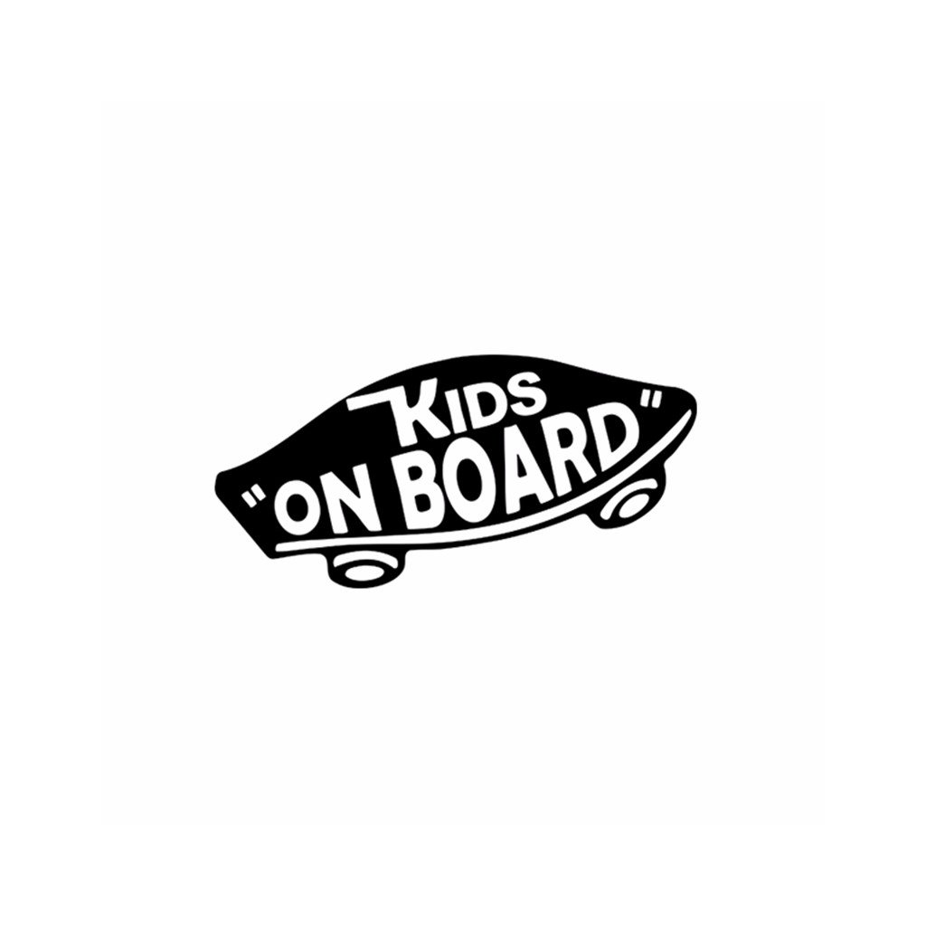 samolepka na auto vans kids on board dieta na palube dekoracna nalepka stylovydomov