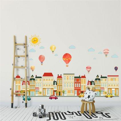 samolepka na stenu pre deti detska nalepka dekoracia nahlad stylovydomov