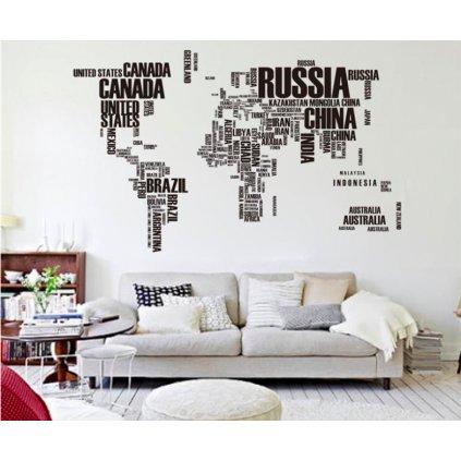 Mapa sveta 2 úvod